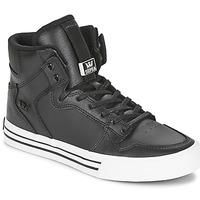 Schuhe Sneaker High Supra VAIDER CLASSIC Schwarz / Weiss