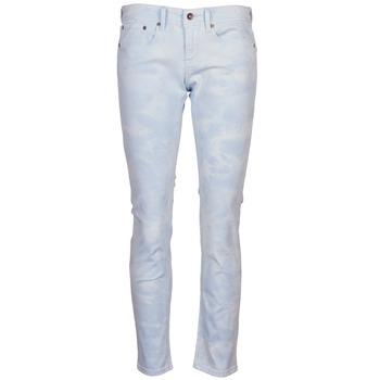 Kleidung Damen 5-Pocket-Hosen Roxy SUNTRIPPERS TIE-DYE Blau