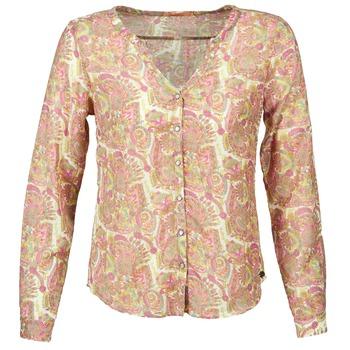 Kleidung Damen Hemden DDP GARDENIA Rose / Grün