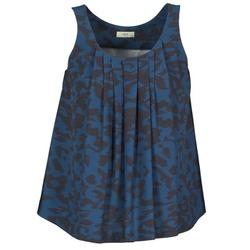 Kleidung Damen Tops / Blusen Lola CUBA Blau / Schwarz