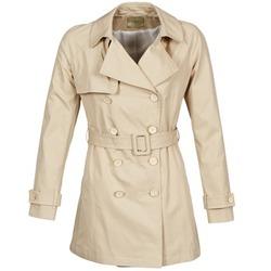 Kleidung Damen Trenchcoats Lola MARDI Beige