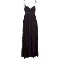 Abbigliamento Donna Abiti lunghi Manoukian 612933 Nero