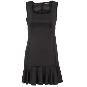 Kleidung Damen Kurze Kleider Manoukian 612936 Schwarz