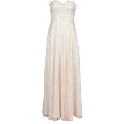 Kleidung Damen Maxikleider Manoukian 613346 Rose / Beige
