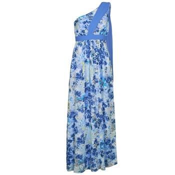 Kleidung Damen Maxikleider Manoukian 613356 Blau