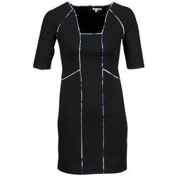 Kleidung Damen Kurze Kleider Manoukian 613369 Schwarz
