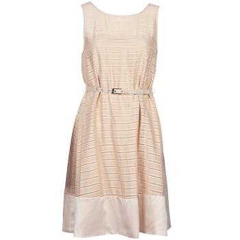 Kleidung Damen Kurze Kleider Manoukian 613374 Beige