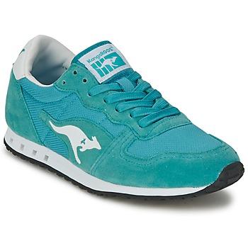 Schuhe Damen Sneaker Low Kangaroos BLAZE III Blau