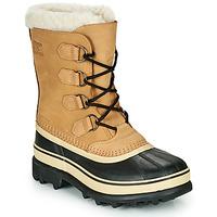 Schuhe Damen Schneestiefel Sorel CARIBOU Braun / Schwarz