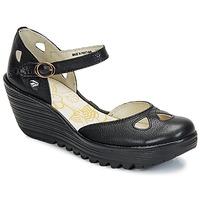 Schuhe Damen Pumps Fly London YUNA Schwarz