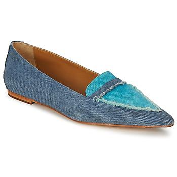 Schuhe Damen Slipper Castaner KATY Blau