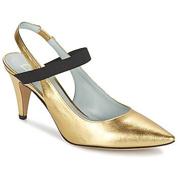 Schuhe Damen Pumps Marc Jacobs VALERY Gold