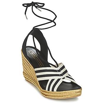 Schuhe Damen Sandalen / Sandaletten Marc Jacobs DANI Schwarz / Weiss