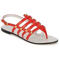Chaussures Femme Sandales et Nu-pieds Versace DSL944C Corail