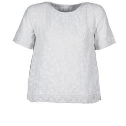 Abbigliamento Donna T-shirt maniche corte Manoush COTONNADE SMOCKEE Bianco