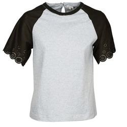 Abbigliamento Donna T-shirt maniche corte Manoush FANCY Grigio / Nero