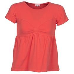 Abbigliamento Donna T-shirt maniche corte Manoush MOLLETON Corail
