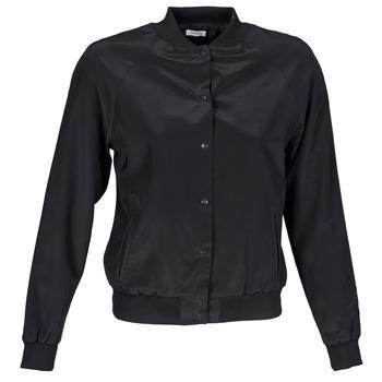 Vêtements Femme Vestes / Blazers Manoush TEDDY FLEUR SIATIQUE Noir