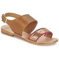 Chaussures Femme Sandales et Nu-pieds Mellow Yellow VADELI Camel