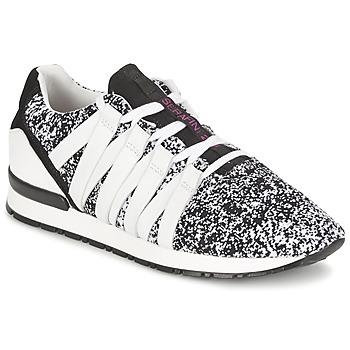 Chaussures Femme Baskets basses Serafini MIAMI Noir / Blanc