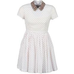 Abbigliamento Donna Abiti corti Manoush PLUMETIS STRASS Bianco / Rosso