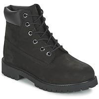 Schuhe Kinder Boots Timberland 6 IN PREMIUM WP BOOT Schwarz