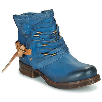 Chaussures Femme Boots Airstep / A.S.98 SAINT Bleu