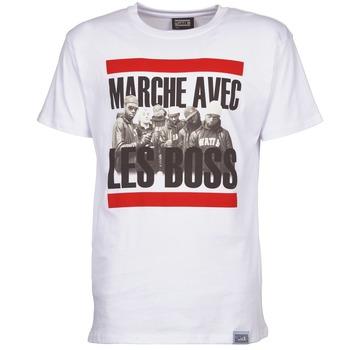Kleidung Herren T-Shirts Wati B BOSS Weiß