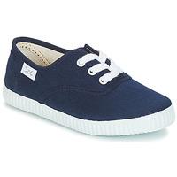 Scarpe Unisex bambino Sneakers basse Citrouille et Compagnie KIPPI BOU Marine