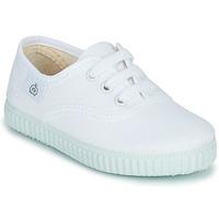Schuhe Kinder Sneaker Low Citrouille et Compagnie KIPPI BOU Weiß