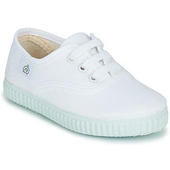 Scarpe Unisex bambino Sneakers basse Citrouille et Compagnie KIPPI BOU Bianco