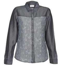 Abbigliamento Donna Camicie Esprit Denim Blouse Grigio