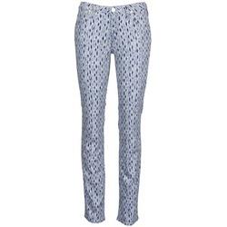 Abbigliamento Donna Jeans dritti Lee MARION STRAIGHT Stampato / Blu
