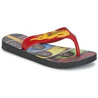 Chaussures Garçon Tongs Ipanema HOT WHEELS TYRE Rouge / Noir