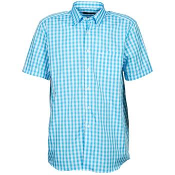 Vêtements Homme Chemises manches courtes Pierre Cardin 539236202-140 Bleu