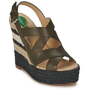 Schuhe Damen Sandalen / Sandaletten Etro 3948 Braun
