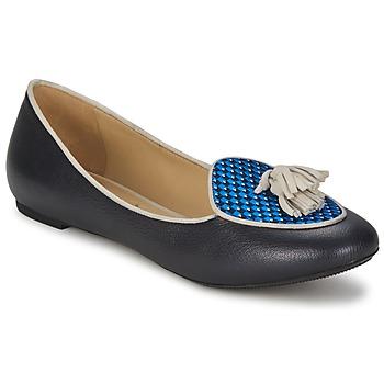 Schuhe Damen Ballerinas Etro 3922 Blau