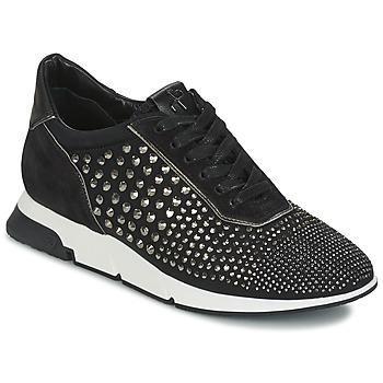 Schuhe Damen Sneaker Low Luciano Barachini SOHO Schwarz
