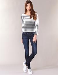 Vêtements Femme Jeans skinny G-Star Raw LYNN MID SKINNY Slander Blue Superstretch Medium Aged