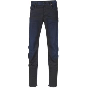 Abbigliamento Uomo Jeans slim G-Star Raw 3301 SLIM Nero / Super / Stretch / Denim