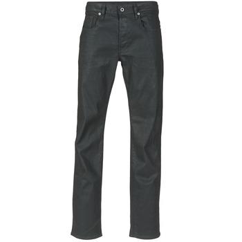 Vêtements Homme Jeans droit G-Star Raw 3302 STRAIGHT STRETCH Noir