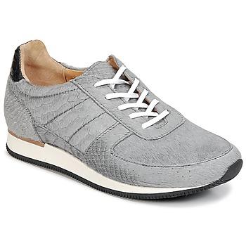 Schuhe Damen Sneaker Low Fred de la Bretoniere JACQUES Grau
