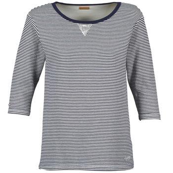 Vêtements Femme Sweats Napapijri BOISSERON Marine / Blanc