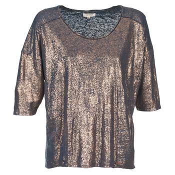 Kleidung Damen T-Shirts Miss Sixty FOX Marineblau / Golden