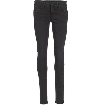 Kleidung Damen Röhrenjeans Pepe jeans SOHO Schwarz
