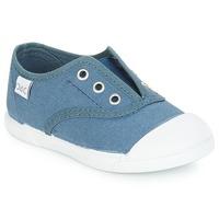 Scarpe Unisex bambino Sneakers basse Citrouille et Compagnie RIVIALELLE Blu / Jeans