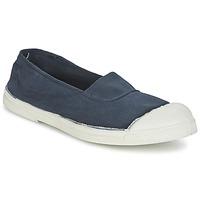 Schuhe Damen Sneaker Low Bensimon TENNIS ELASTIQUE Marineblau