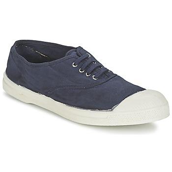 Schuhe Herren Sneaker Low Bensimon TENNIS LACET Marineblau