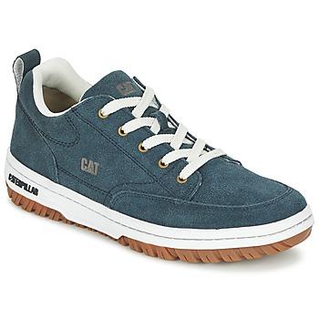 Schuhe Herren Sneaker Low Caterpillar DECADE SUEDE Blau