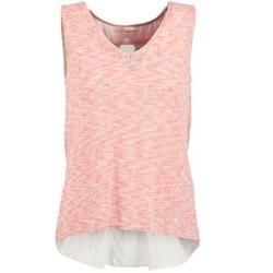 Abbigliamento Donna Top / T-shirt senza maniche Les Petites Bombes NODOLA Corail